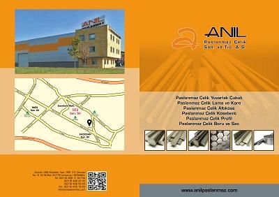 ANIL Paslanmaz Online Katalog